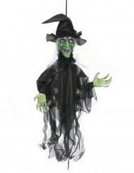 Decorazione di Halloween: strega parlante