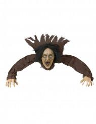 Decorazione di Halloween: strega all'attacco
