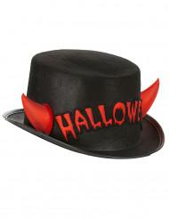 Cappello di Halloween con corna da diavolo