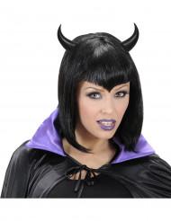 Corna per adulti da diavolo di colore neo di Halloween