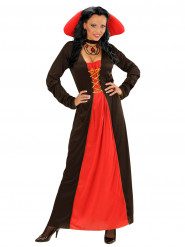 Costume contessa grande collo donna Halloween