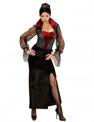 Travestimento vampiro donna pizzo Halloween