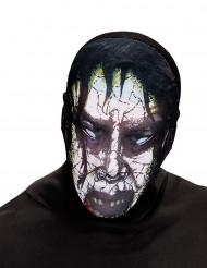 Maschera adulto zombie posseduto Halloween