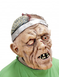 Maschera Halloween: paziente operato al cervello adulto