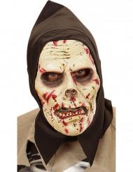 Maschera da zombie adulto con cappuccio Halloween