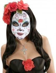 Maschera colorata adulto dia de los muertos