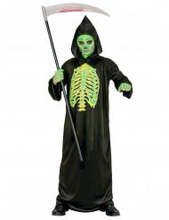 Costume scheletro bambino halloween