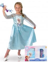 Kit travestimento classico Elsa Frozen-Il regno di Ghiaccio™ con cofanetto