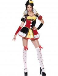 Costume regina di cuori sexy adulto