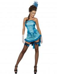 Costume ballerina saloon donna