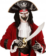 Maschera adulto capitano pirata