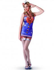 Costume classico marinaio sexy per donna