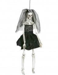 Decorazione di Halloween: sposa scheletrica