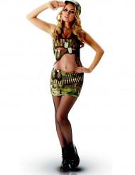 Costume classico militare sexy adulto