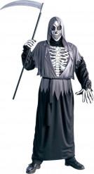 Costume scheletro falciatore adulto Halloween