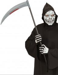 Falce insanguinata per costume di Halloween