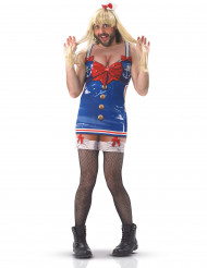 Costume umoristico da marinaia per uomo