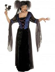 Costume principessa gotica Halloween donna