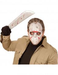 Maschera da giocatore di hockey dell'orrore Halloween