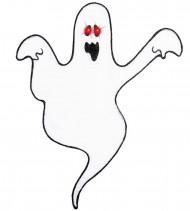 Image of Decorazione Halloween: fantasma con occhi lampeggianti
