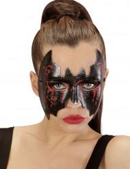 Maschera Halloween: pipistrello insanguinato adulto