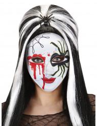 Maschera ragno insanguinato adulto Halloween