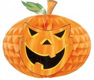 Decorazione Halloween: zucca di carta alveolata