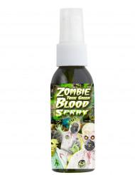 Spray sangue tossico di colore verde