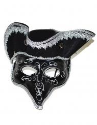 Maschera Veneziana con Tricorno per adulto