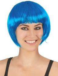 Image of Parrucca corta blu donna