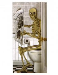 Decorazione di Halloween: poster con scheletro