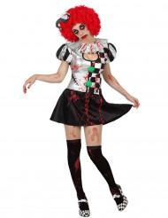 Costume jolly sexy insanguinato donna