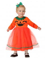 Costume zucca di Halloween bebé