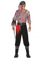 Costume pirata adulto insanguinato