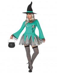 Costume da strega con toppa per donna