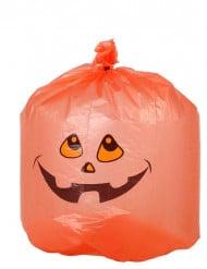 10 Sacchi di plastica zucca di Halloween