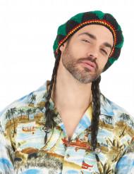 Parrucca reggae uomo