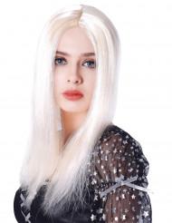 Parrucca bionda lunga 45 cm per donna