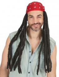 Parrucca Rasta lunga uomo
