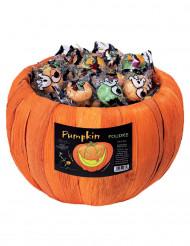 Sacchetto caramelle forma zucca 700 g Halloween