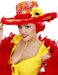 Cappello hippie girasole per donna