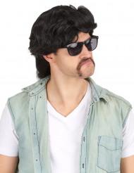 Parrucca taglio  mullet   per uomo