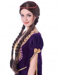 Parrucca dama medievale per adulto