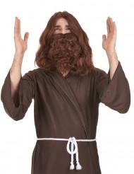 Parrucca con barba Gesù