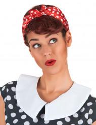 Parrucca castana da Pin-up per donna