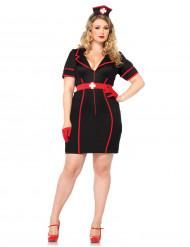 Costume da infermiera sexy per donna taglie comode