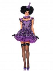 Costume da Pierrot sexy per donna