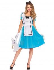 Costume da Fanciulla del mondo delle meraviglie per donna