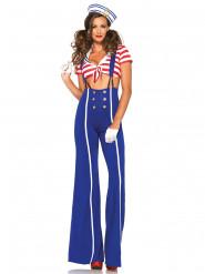 Costume Marinaio con pantalone per donna