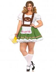 Costume bavarese donna - taglie forti